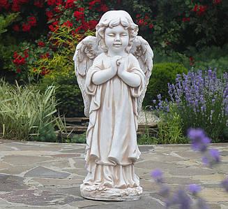 Садовая фигура Ангел молящийся стоя 72х35x25 см ССП12091-Н статуя скульптура для сада ангелок