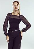 Блуза Erika Eldar. Коллекция осень-зима 2020-2021