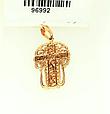 Женский золотой крестик с распятием, фото 2