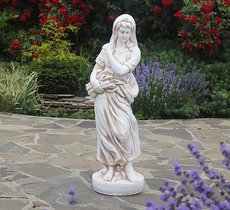 Садовая фигура Богиня зимы 83х25x24см ССП12040-Н статуя скульптура для сада девушка, фото 2
