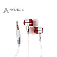 Навушники вакуумні дротові для телефону AVALANCHE MP3-386