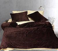 Евро постельное белье зима-лето Brown ТМ TAG