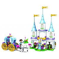 Конструктор JVToy Чарівний замок Попелюшки серія Принцеси (15009)