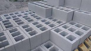 Шлакоблок стиновый 20х20х40см