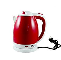 Чайник электрический из нержавеющей стали Domotec MS-5023R Red