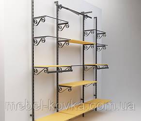 Кованное металлическое торговое оборудование