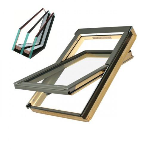Дахове вікно Fakro FTS-V U4 78*118 двокамерний склопакет