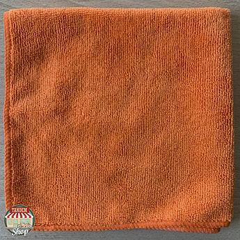 Полотенце микрофибровое ZviZZer, 40 мм x 40 мм Оранжевый