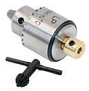 Мини патрон сверлильный 0.3-4мм под 3.17мм JT0 вал для микродрели PCB, фото 2