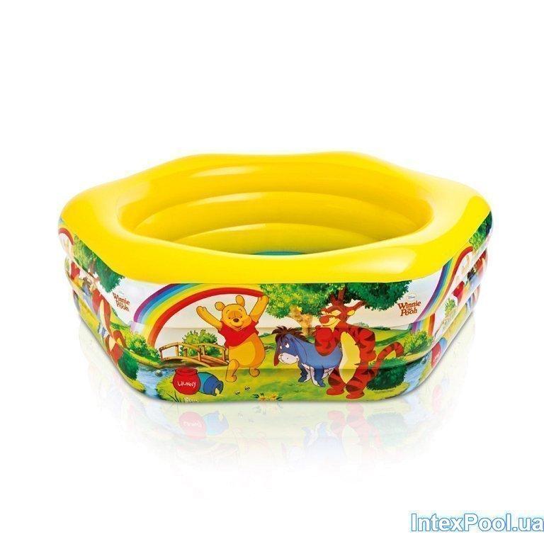 Детский надувной бассейн Intex 57494 «Винни Пух», 191 х 178 х 61 см