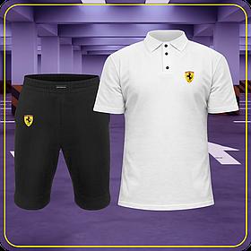 Летний спортивный костюм Ferrari