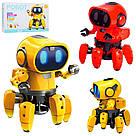Умный Интерактивный  Робот-конструктор Tobbie Robot HG-715, игрушечный робот Тобби на сенсорном управлении, фото 2