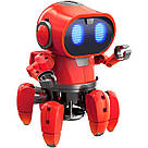 Умный Интерактивный  Робот-конструктор Tobbie Robot HG-715, игрушечный робот Тобби на сенсорном управлении, фото 4