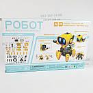 Умный Интерактивный  Робот-конструктор Tobbie Robot HG-715, игрушечный робот Тобби на сенсорном управлении, фото 7