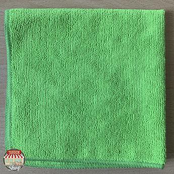 Полотенце микрофибровое ZviZZer, 40 мм x 40 мм Зеленый