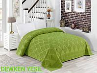 Махрове простирадло бавовна 150*220 (TM Zeron) 450г/м2 Dewken Yesil, Туреччина