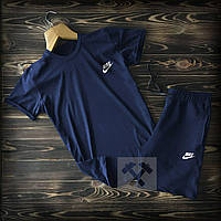 Мужской спортивный летний  костюм Nike Футболка шорты  Nike (Найк)