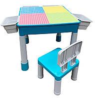 Игровой стол-конструктор легостол Игровой центр  Microlab Toys (GT-16)