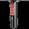 Микрофон караоке WSTER WS-1816 - беспроводной Bluetooth микрофон с cветомузыкой слотом USB и FM тюнером Черный, фото 5