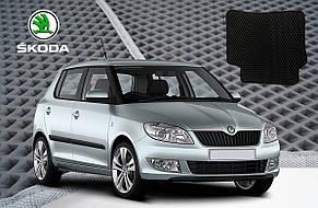 Автомобільні килимки EVA на Skoda Superb 2001-2008, фото 2