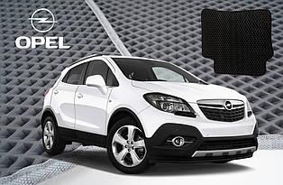 Автомобильные коврики EVA на Opel Zafira 2012-