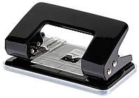 Дырокол для бумаги с фиксатором NORMA 4325 8 см 10 л черный