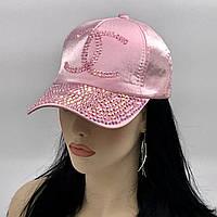 Женская бейсболка (розовый перламутр)