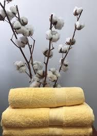 Махровое полотенце 70х140, 100% хлопок 550 гр/м2, Пакистан, Светлый желтый