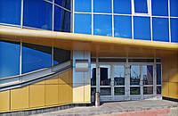 Фасады алюминиевые