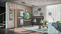 """Модульна вітальня  """"Бянко"""" артизан/графіт від Світ Меблів, фото 1"""