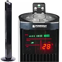 Вентилятор колонный Powermat Onyx Tower-120 с таймером и пультом, фото 1