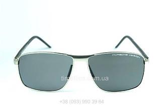 Мужские квадратные очки Porsche Design Черные AAA Copy
