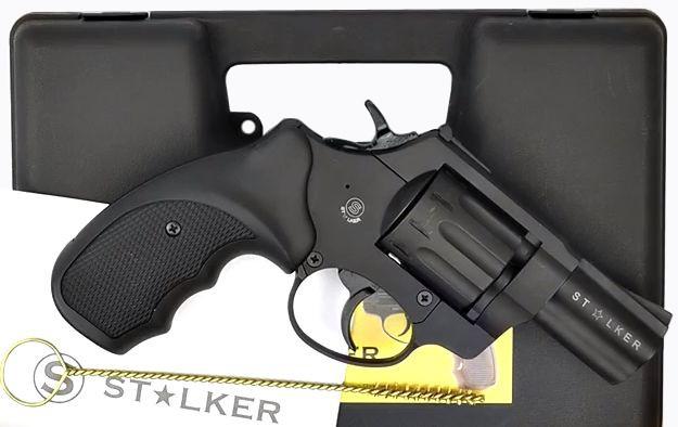 револьвер флобера stalker 2,5 в кейсе