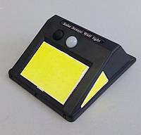 Светильник LED COB IP65 с датчиком движения и освещенности на солнечных батареях LM33002, фото 1