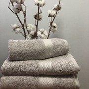 Махровое полотенце 50х100, 100% хлопок 550 гр/м2, Пакистан, Светлый серый