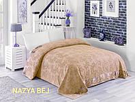 Махрове простирадло бавовна 150*220 (TM Zeron) 450г/м2 Nazya Bej, Туреччина
