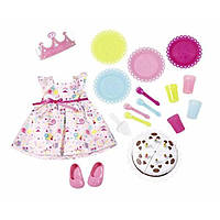 Zapf Creation Одежда для куклы Baby Born День рождения 825242 Deluxe Party Set, фото 1