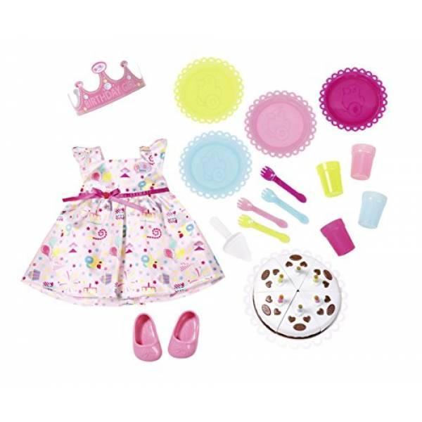 Zapf Creation Одежда для куклы Baby Born День рождения 825242 Deluxe Party Set