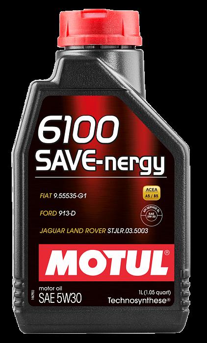 Масло моторное MOTUL 6100 SAVE-NERGY 5W30 1 л (812411)