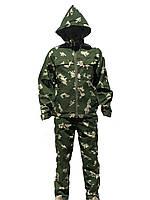 Летний камуфляжный костюм для охоты и рыбалки Березка