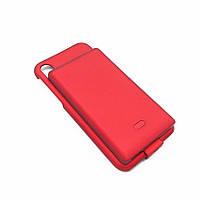 Чехол-аккумулятор для iPhone Х Smart Power Case красный 5000мАч