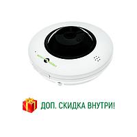 Камера наблюдения для магазина  IP (внутренняя) GreenVision GV-075-IP-ME-DIА20-20 (360) POE