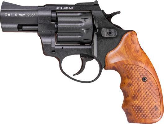Револьвер під патрон флобера Сталкер 2,5 коричнева рукоять