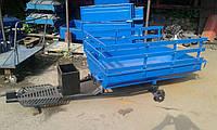 Прицеп 160х105  для МоторСич БелМет (универсальная ступица, 1,5 мм), фото 1