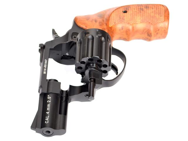 револьвер флобера сталкер з відкритим барабаном