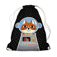 Детский рюкзак-мешок для игрушек,обуви Космонавт