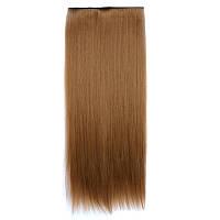 Искусственные волосы на заколках. Цвет #6А Светло-коричневый