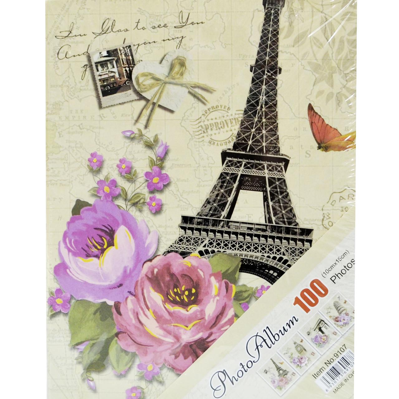"""Фотоальбом """"Paris"""" (альбом для фотографий) 100/10Х15см"""
