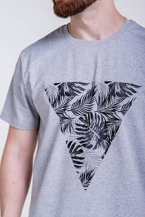 Мужская футболка с оригинальным принтом, фото 2