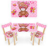 """Детский стол со стульчиком """"Мишка"""""""